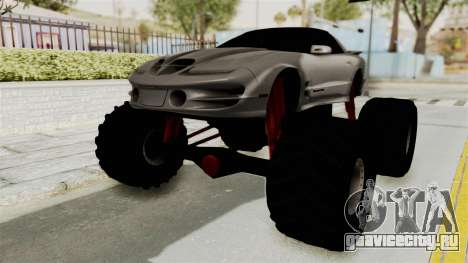 Pontiac Firebird Trans Am 2002 Monster Truck для GTA San Andreas