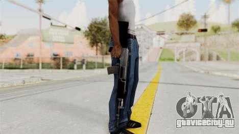 IOFB INSAS Plastic Black Skin для GTA San Andreas третий скриншот