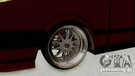 Tofas Dogan 1.6 для GTA San Andreas вид сзади