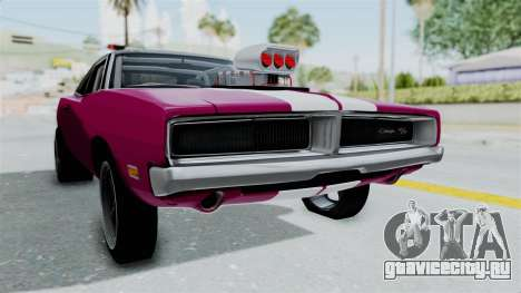 Dodge Charger 1969 Drag для GTA San Andreas