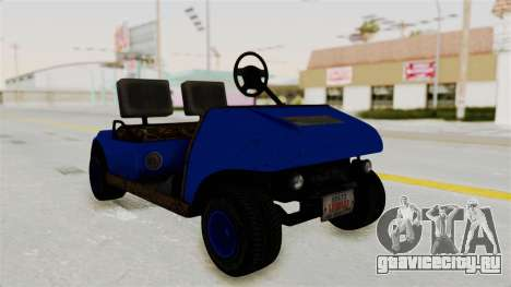 GTA 5 Gambler Caddy Golf Cart IVF для GTA San Andreas