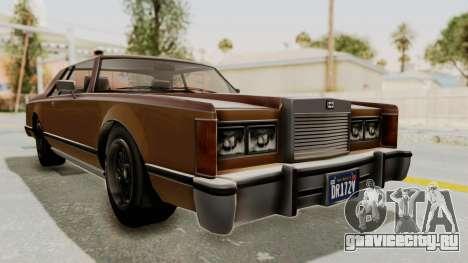 GTA 5 Dundreary Virgo Classic для GTA San Andreas