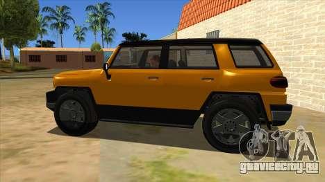 Karin Beejay XL для GTA San Andreas вид слева