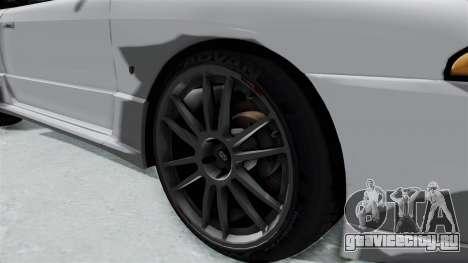 Nissan Skyline BNR32 Hot Version для GTA San Andreas вид сзади