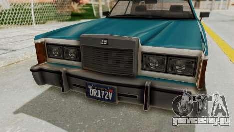 GTA 5 Dundreary Virgo Classic IVF для GTA San Andreas вид сзади