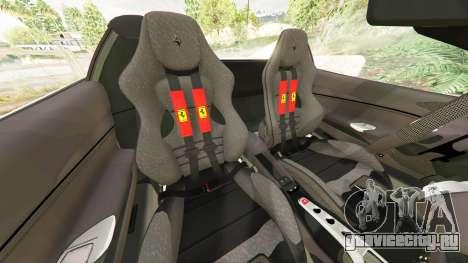 Ferrari 488 GTS для GTA 5 руль и приборная панель