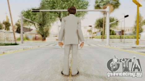 Scarface Tony Montana Suit v1 with Glasses для GTA San Andreas третий скриншот