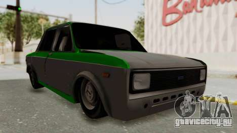 Fiat 128 De Picadas для GTA San Andreas вид справа