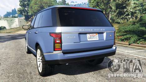 Range Rover (L405) Vogue 2013 для GTA 5