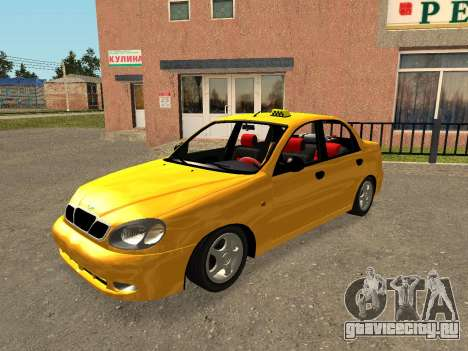 Daewoo Lanos (Sens) 2004 v1.0 by Greedy для GTA San Andreas двигатель