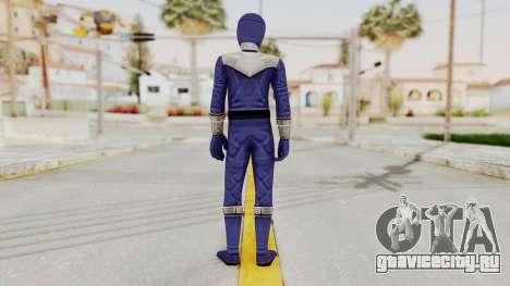 Power Rangers Time Force - Blue для GTA San Andreas третий скриншот