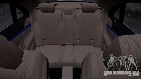 Mercedes-Benz w222 для GTA 4 вид изнутри