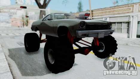 Chevrolet El Camino 1973 Monster Truck для GTA San Andreas