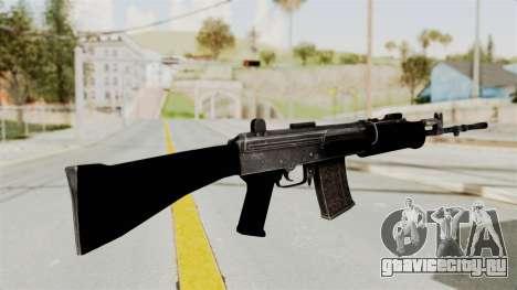 IOFB INSAS Plastic Black Skin для GTA San Andreas второй скриншот