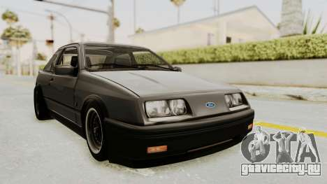 Ford Sierra Mk1 Drag Version для GTA San Andreas