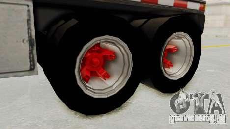 Trailer de Conbustible для GTA San Andreas вид справа
