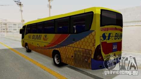 Marcopolo SP Bumi Express для GTA San Andreas вид слева