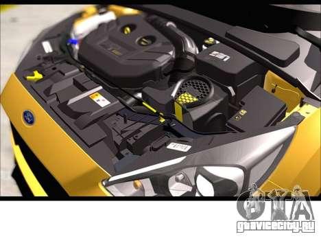 Форд Фокус РС 2017 для GTA San Andreas вид справа