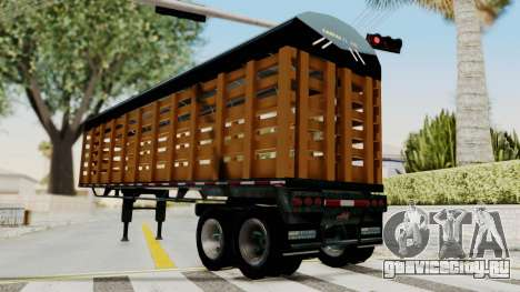 Trailer de Estacas для GTA San Andreas вид справа
