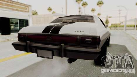 Ford Gran Torino 1975 для GTA San Andreas вид слева