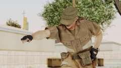 MGSV Phantom Pain CFA Soldier v2 для GTA San Andreas