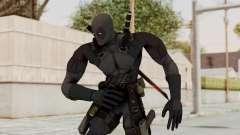 Black Deadpool для GTA San Andreas