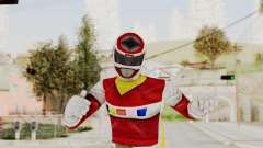Power Rangers In Space - Red для GTA San Andreas