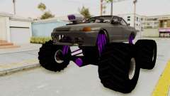 Nissan Skyline R32 4 Door Monster Truck