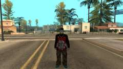 Varios Los Aztecas Gang Member v5 для GTA San Andreas
