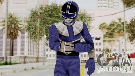 Power Rangers Time Force - Blue для GTA San Andreas