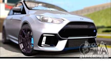 Форд Фокус РС 2017 для GTA San Andreas