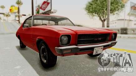 Holden Monaro GTS 1971 SA Plate IVF для GTA San Andreas