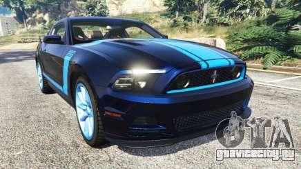 Ford Mustang Boss 302 2013 для GTA 5