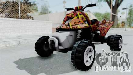Sand Stinger from Hot Wheels Worlds Best Driver для GTA San Andreas