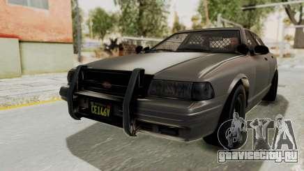 GTA 5 Vapid Stanier II Police Cruiser 2 IVF для GTA San Andreas
