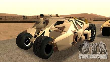 Army Tumbler Gun Tower from TDKR для GTA San Andreas