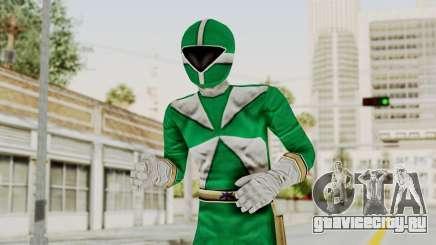Power Rangers Lightspeed Rescue - Green для GTA San Andreas