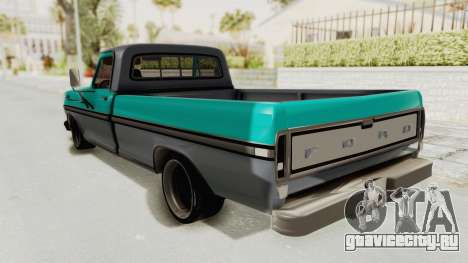 Ford F-150 Black Whells Edition для GTA San Andreas вид слева
