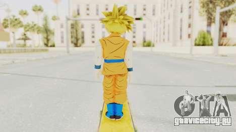Dragon Ball Xenoverse Gohan Teen DBS SSJ1 v2 для GTA San Andreas третий скриншот