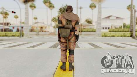 MGSV The Phantom Pain Venom Snake Scarf v5 для GTA San Andreas третий скриншот