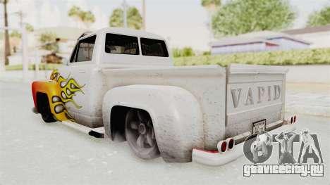 GTA 5 Slamvan Lowrider PJ1 для GTA San Andreas вид сверху