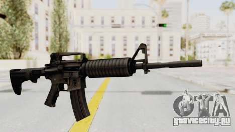HD M4 v1 для GTA San Andreas