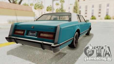 GTA 5 Dundreary Virgo Classic Custom v3 для GTA San Andreas вид сзади слева