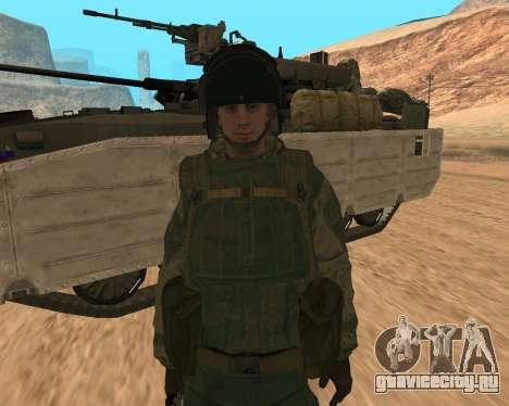 Спецназ РФ для GTA San Andreas третий скриншот