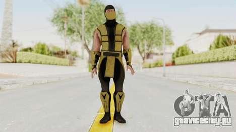 Mortal Kombat X Klassic Scorpion для GTA San Andreas второй скриншот