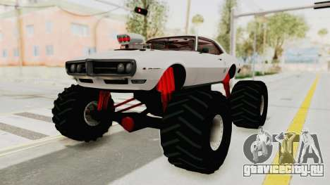 Pontiac Firebird 400 1968 Monster Truck для GTA San Andreas