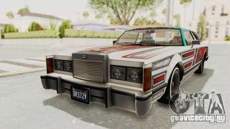 GTA 5 Dundreary Virgo Classic Custom v3 для GTA San Andreas вид сверху