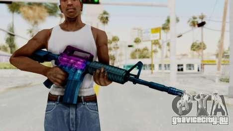 Vice M4 для GTA San Andreas третий скриншот