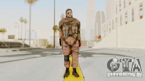 MGSV The Phantom Pain Venom Snake Scarf v5 для GTA San Andreas второй скриншот