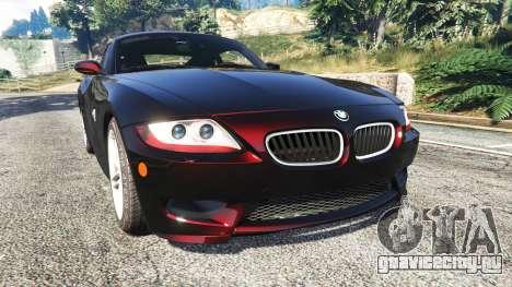 BMW Z4 M (E86) 2008 для GTA 5
